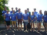 Студенты группы 493, приняли участие в акции «Вода России» _logotype