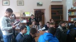 Студенты нашего института посетили отдел иностранной литературы библиотеки имени А.П.Чехова, в музее «Домик П.И.Чайковского»_logo