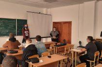 Заседание научного кружка кафедры АиСТС